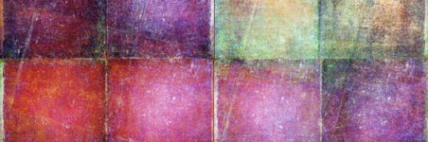 array of coloured squares