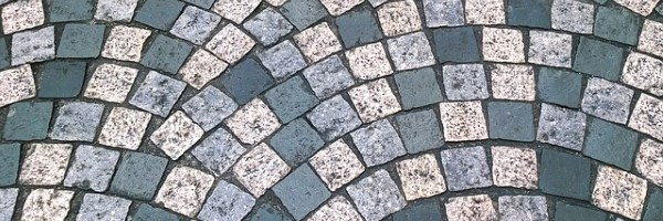 Image of cobbled pavement