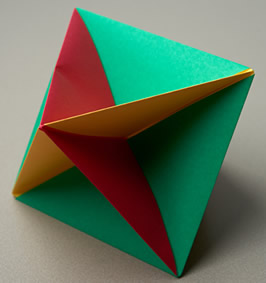 Modular Origami: How to Make a Cube, Octahedron & Icosahedron from ... | 283x266