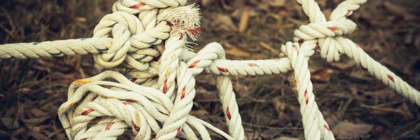 Tangle of rope