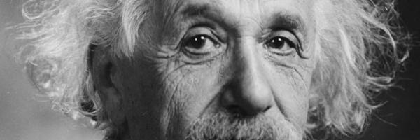 Image Albert Einstein (Wikipedia; public domain)